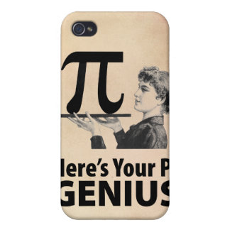 Pi Number Humor iPhone 4 Cases