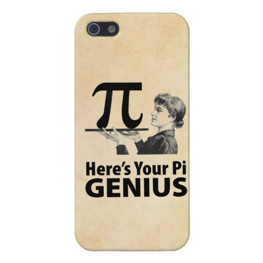 Pi Number Humor Case For iPhone 5