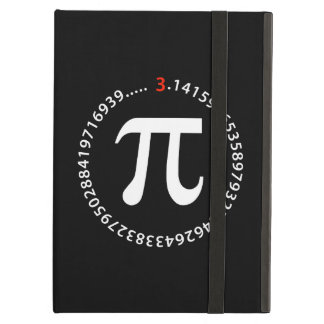 Pi Number Spiral Design Case For iPad Air