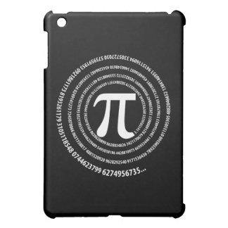 Pi Number Spiral Design iPad Mini Cover