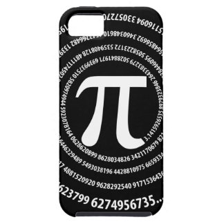 Pi Number Spiral Design iPhone 5 Case