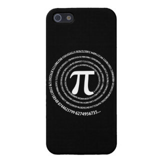 Pi Number Spiral Design iPhone 5/5S Covers