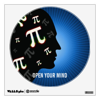 Pi - Open Your Mind | Wall Decal
