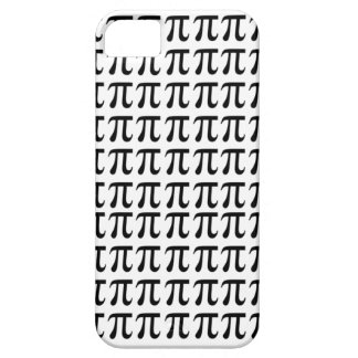 Pi Pattern Black iPhone 5 Cases