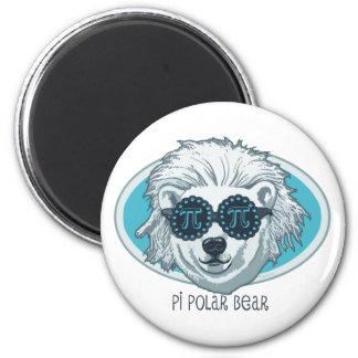Pi Polar Bear Magnet