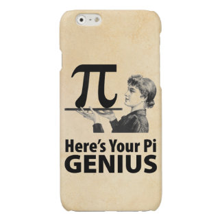 Pi Sign Humor Glossy iPhone 6 Case