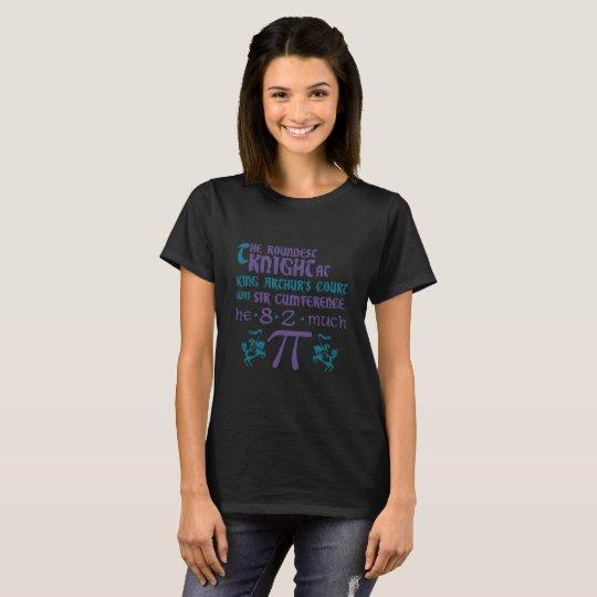 Pi Sir Cumference Math Science Pun T-Shirt