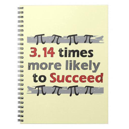 Pi Success - Funny Math Pi Note Book