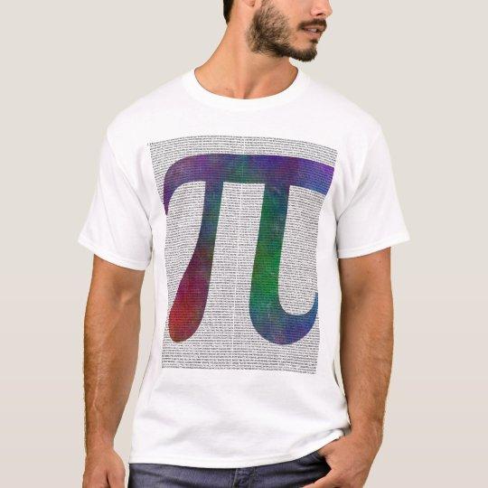 Pİ Symbol 14400 Digits T-Shirt