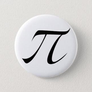 PI Symbol 2 Inch Round Button
