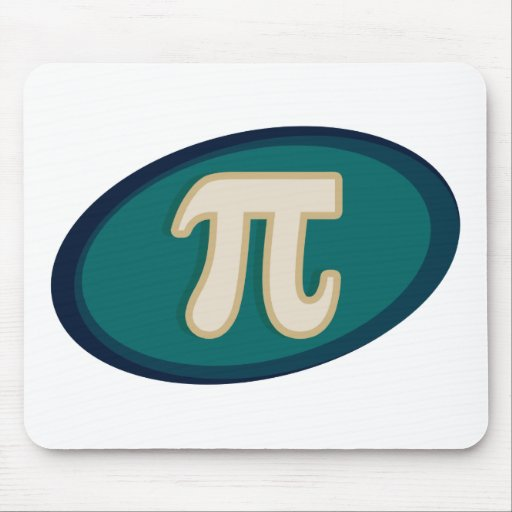 Pi Symbol 3.14 Mousepads