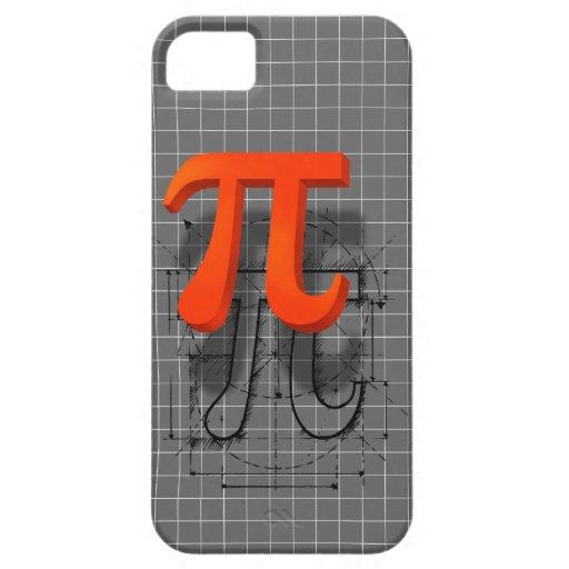 Pi Symbol Art iPhone 5 Covers
