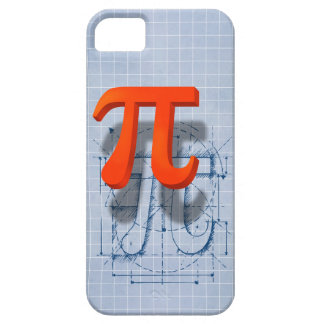 Pi Symbol Art iPhone 5 Cases