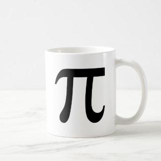 Pi Symbol Classic White Coffee Mug
