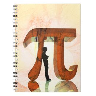 Pi Symbol Notebook