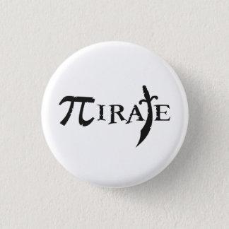Pi Symbol Pirate 1 Inch Round Button