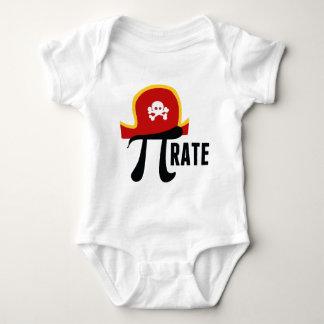 Pi Symbol Pirate Baby Baby Bodysuit