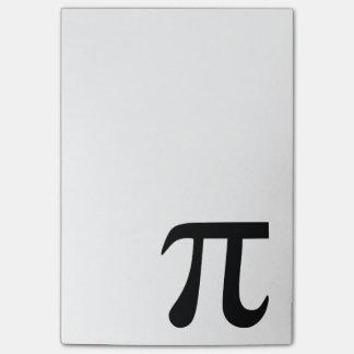 Pi Symbol Post-it Notes