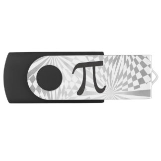Pi Symbol Retro Math Themed USB Flash Drive