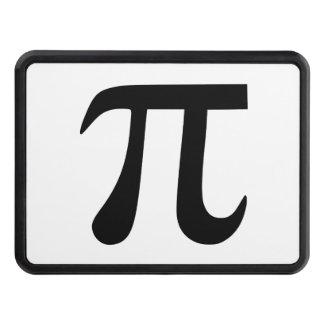 Pi Symbol Tow Hitch Cover