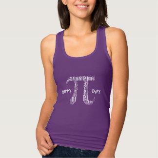 Pi Typed Text Symbol | Celebrate Geek Tank Top