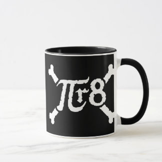 Pi x Radius to the 8th Power = Pirate Mug