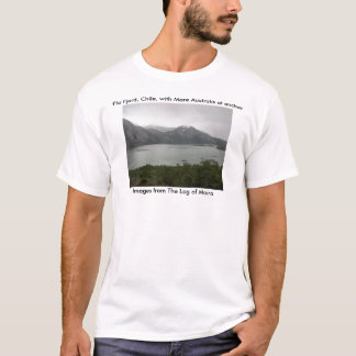 Pia Fjord, Chile, with Mare Australis at anchor T-Shirt
