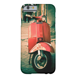 Piaggio scooter, Red in Italy, Rome IPhone 6 Case