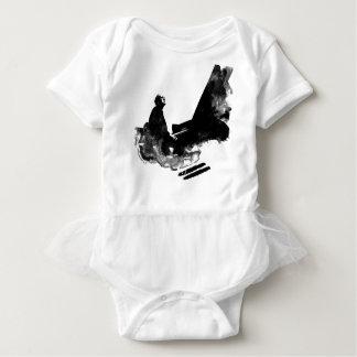pianist baby bodysuit