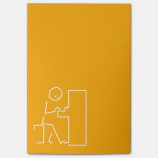 Pianist Post-it Notes