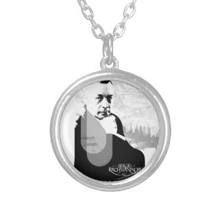 Pianist Silver Plated Necklace