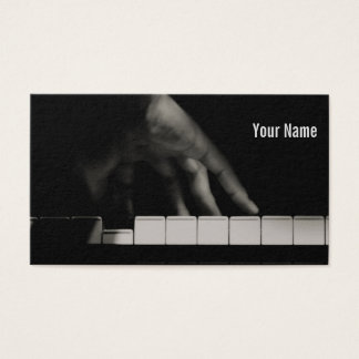 Pianist's Hand Business Card