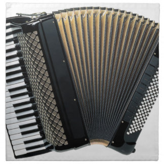 Piano Accordion Napkin