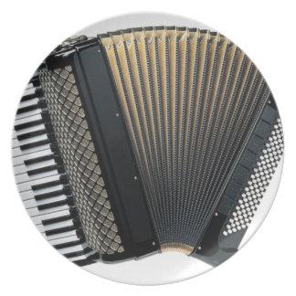 Piano Accordion Plate