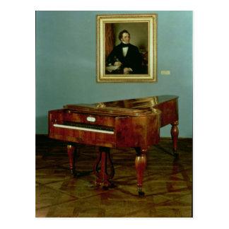 Piano belonging to Franz Peter Schubert Postcard