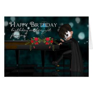 Piano Birthday Greeting Card
