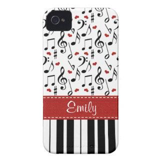 Piano Blackberry Bold Case Cover