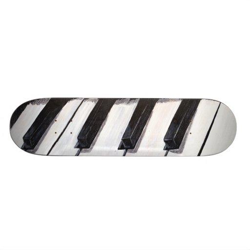 Piano board skate board