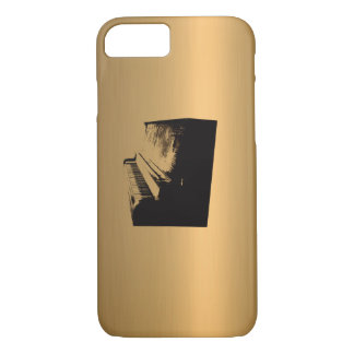 Piano Bronze Copper-Effect iPhone 7 Case