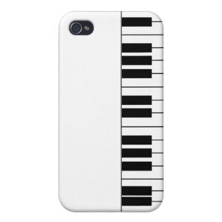 """""""Piano"""" Case Cover For iPhone 4"""