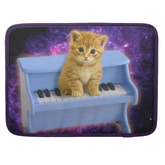 Piano cat MacBook pro sleeve
