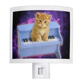 Piano cat night lite