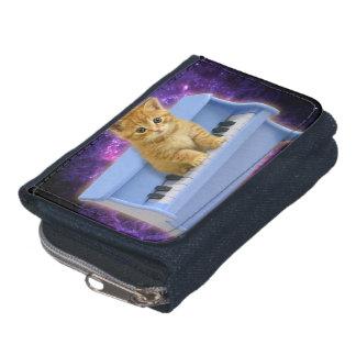 Piano cat wallet