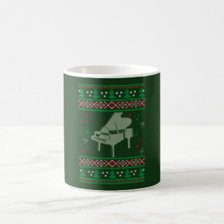Piano Christmas Coffee Mug