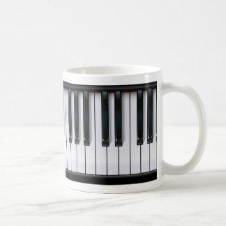 Piano Classic White Coffee Mug