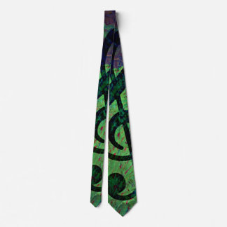 Piano Clef Music Style Tie