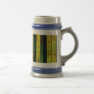 Piano Clef Style Beer Stein