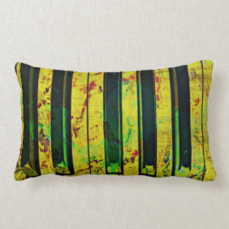Piano Clef Style Lumbar Pillow