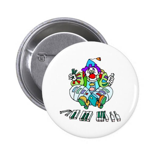 Piano Clown Buttons