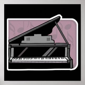 piano design poster